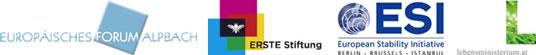 Europäisches Forum Alpbach - DIE ERSTE österreichische Spar-Casse Privatstiftung - Europäische Stabilitätsinitiative (ESI) - Lebensministerium