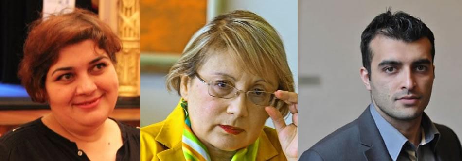 Khadija Ismayilova – Leyla Yunus – Rasul Jafarov