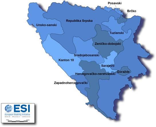 Federalne jedinice Bosne i Hercegovine