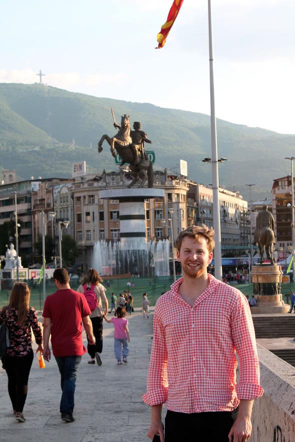 Max in Skopje