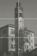 Kirchturm in Pristina