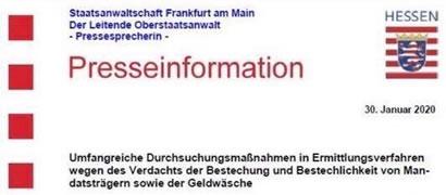 Staatsanwaltschaft Frankfurt am Main