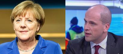 Angela Merkel � Diederik Samsom