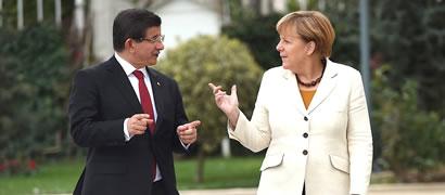 Ahmet Davutoğlu � Angela Merkel
