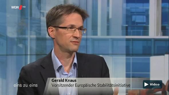 Gerald Knaus on German news show eins zu eins on 17 February 2016
