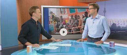 ZDF mo:ma, Flüchtlingsaufnahmezentren in Spanien?
