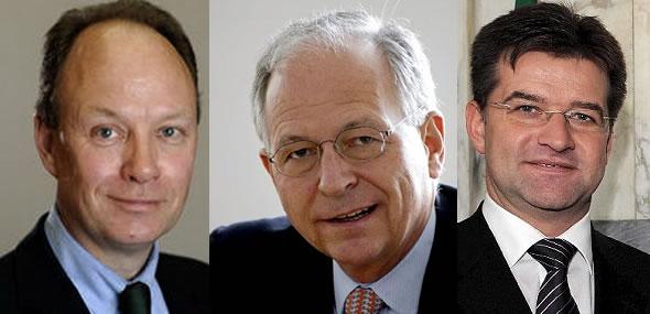 Nikolaus Graf Lamdsdorff, Wolfgang Ischinger, Miroslav Lajcak