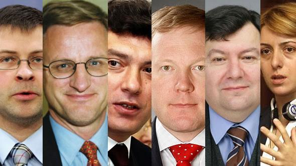 Valdis Dombrovskis – Carl Bildt – Boris Nemtsov – Marko Mihkelson – Emanuelis Zingeris – Eka Tkeshelashvili