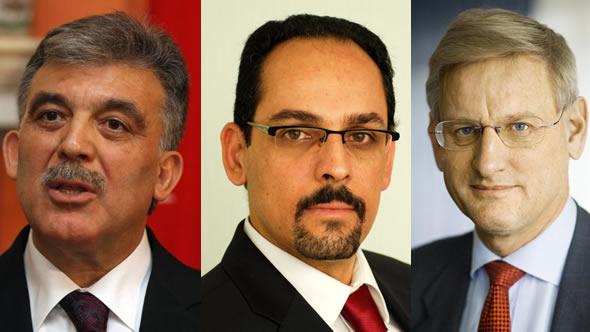 Abdullah Gul – Ibrahim Kalin – Carl Bildt