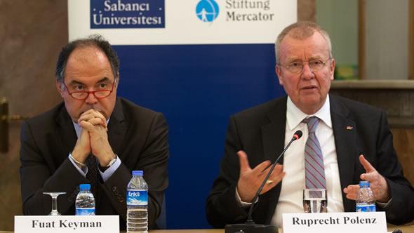 Fuat Keyman and Ruprecht Polenz
