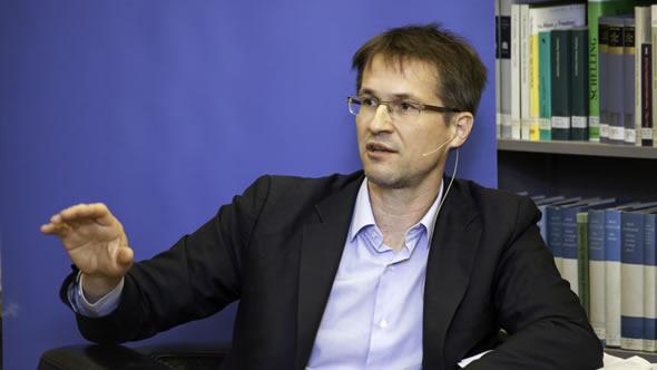Gerald Knaus: Photo: IWM / Daniel Mikkelsen