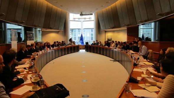 The expert panel. Photo: European Neighbourhood Council