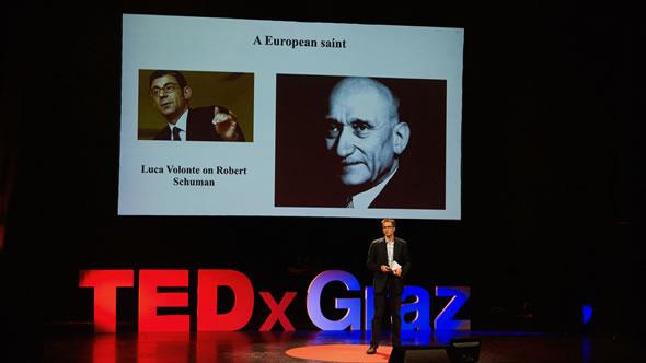 Gerald Knaus. Photo: TEDxGraz