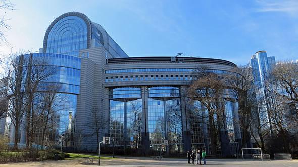 European Parliament, Brussels. Photo: flickr/diamond geezer