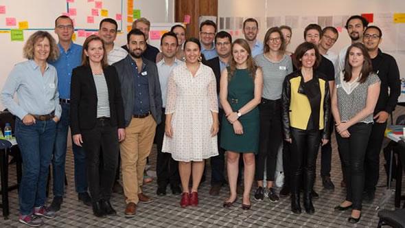 Alexandra Stiglmayer (left). Photo: Stiftung Mercator