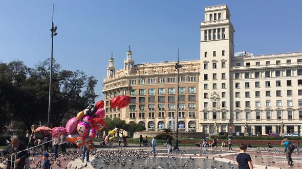 Plaça de Catalunya. Photo: ESI