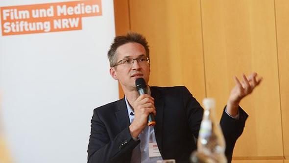 Gerald Knaus. Photo: Film- und Medienstiftung NRW