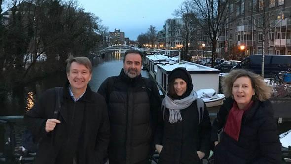 Nadan Petrovic, Panagiotis Nikas, Isotta Ricci Bitti, Alexandra Stiglmayer. Photo: ESI