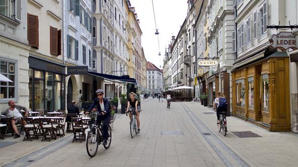 Graz old town. Photo: ESI