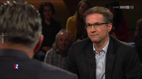 Gerald Knaus. Photo: ORF2