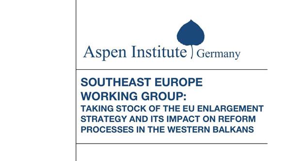 Adnan Cerimagic took part at a working meeting in Berlin. Photo: Aspen Institute Germany