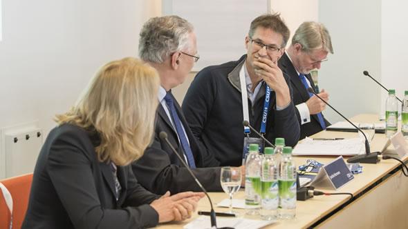 Kathrin Wickenhäuser-Egger, Joachim Hermann, Gerald Knaus, and Hans-Eckhard Sommer. Photo: CSU