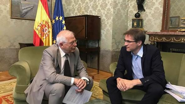 Josep Borrel and Gerald Knaus. Photo: ESI