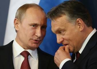 Vladimir Putin ve Viktor Orban