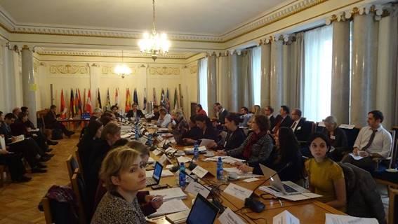 Varşova'da AGİT'te ESI sunumu (13 Kasım)