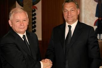Viktor Orban and Jaroslaw Kaczynski