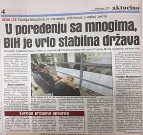 Dnevni Avaz, 4 November 2017