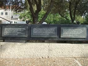 Denmark square in Jerusalem: remembering ordinary heroism