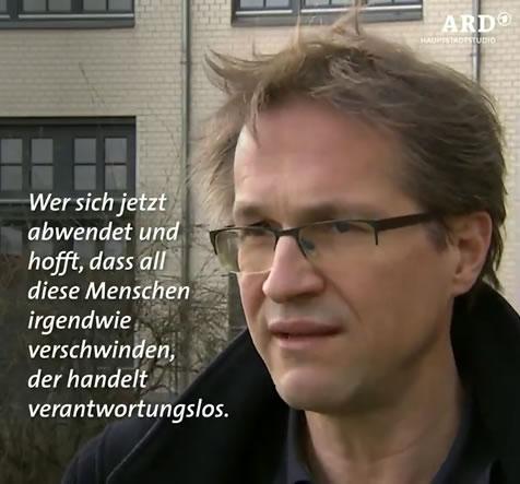 ARD interview in March 2020