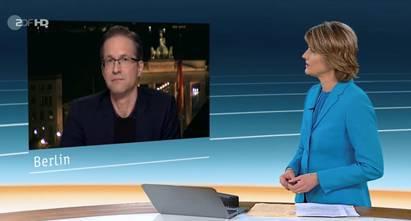 Interview (in German): ZDF news