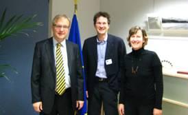 Olli Rehn, Gerald Knaus, and Alexandra Stiglmayer