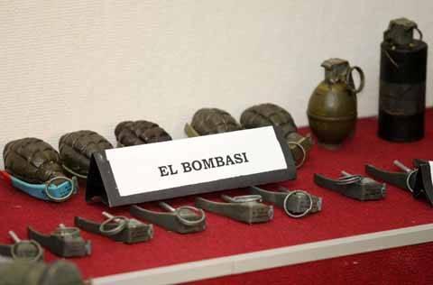 Hand grenades found in Poyrazköy / Istanbul (April 2009)
