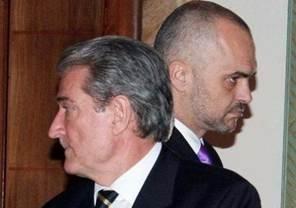 Sali Berisha and Edi Rama