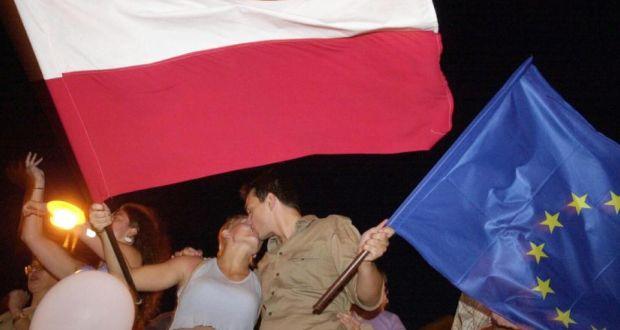 Poland celebrating 2004