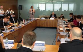 Kristof at V4 ministers' meeting in Bratislava