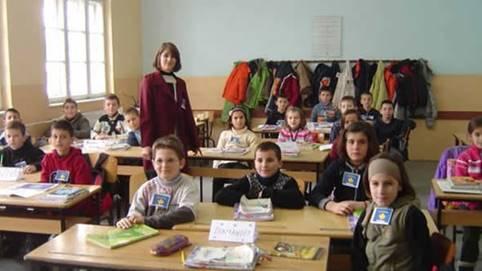Class room in Kosovo