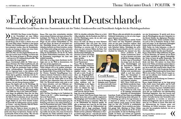 """""""Erdogan braucht Deutschland"""""""