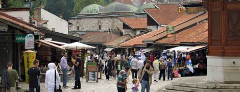 Sarajevo. Photo: Alan Grant