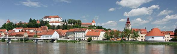Ptuj - Drava River, Slovenia