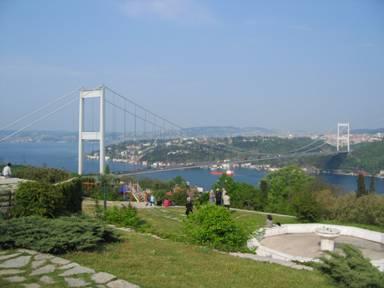 The Mehmet the Conqueror Bridge in Rumeli Hisari