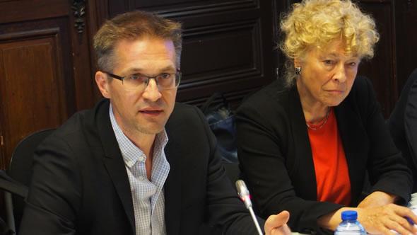Gerald Knaus and Gesine Schwan
